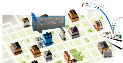 Mapa icarum